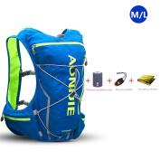 AONIJIE 10L Lightweight Waterproof Cross-country Backpack Running Backpack Marathon Cycling Bags Running Vest Kettle Sport Bag