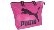 Puma Women's Handbag Shopper Sports Bag Travel Bag Pink