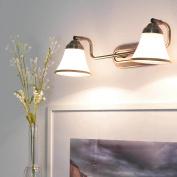 Decorative 2 Light in Bronze Finish IP20 2 x E14 Bathroom Lighting Wall Lights Bathroom Mirror Light/Art Nouveau Style Wall Light