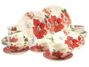 Creatable Amelie Dinner Set, Porcelain, Multi-Colour