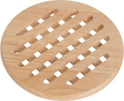 Cosy & Trendy 818172 Trivet Round Natural Wood