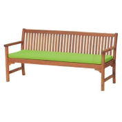 Gardenista Water Resistant 4-Seater Garden Bench Pad, Lime Green *Bench not included*