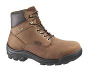 Wolverine Worldwide W05484 10.5M Durbin Waterproof Work Boots, Medium Width, Brown Nubuck Leather, Men's Size 10.5