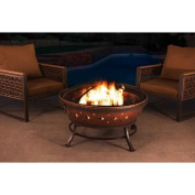 Sunjoy 110501004 90cm Steel with Copper Finish Fire Pit