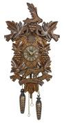 Quartz Cuckoo Clock 6 leaves, Bird, Grapes TU 359 Q