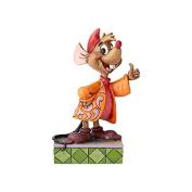 Disney Traditions 4059738 Thumbs Up Cinderella Jaq Figurine