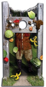 Mediaeval Stocks Stand In 186cms Lifesize Cardboard Cutout