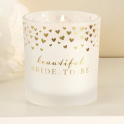 Showered with Love' Candle Cotton - Bride to Be