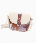 HCFKJ Colourful Camouflage Ladies Shoulder Bag fashion Oblique Cross Package Backpack Girl Shoulder Purses Bags