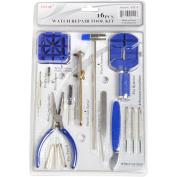 Watch Repair Tool Kit - 16 Pieces