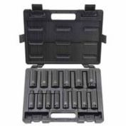 Deep Impact Socket Sets, 1.3cm , 6 Point, Sold As 1 Each