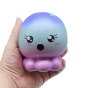 VENMO Galaxy Octopus Slow Rising Squishies Scented Kawaii Animal Squeeze Toys Stress Ball For Kids Stress Relief