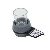 huichang New Fun Spinner Spin Roulette Glass Alcohol Drinking Game Party Gift