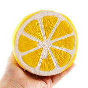 Squishy Toys, Quistal Soft Cute Lemon Scented Slow Rising Jumbo Squishy Toys Stress Relief Toys for Kids Adults