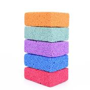 FUN FOAM Modelling Foam Beads Play Kit (5 Blocks) by Special Supplies Children's Educational Clay for Arts & Crafts Kindergarten & Preschool Kids Toys Develop Creativity & Motor Skills