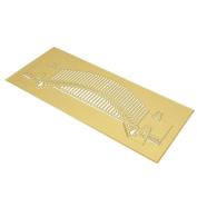 Metal Cutting Dies Stencils,Lavany 3D Metal Cutting Dies Stencil Dies Cut Scrapbooking Photo Paper Cards Crafts Embossing DIY, DIY Hand Embossing