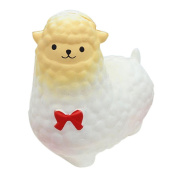 Lavany Squishy Kawaii Sheep Alpaca Slow Rising Scented Exquisite Stress Reliever Toys For Kids