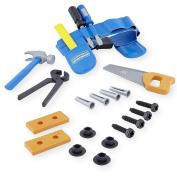 . Home Workshop Tool Belt and Bucket Set