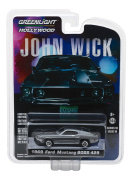 1969 Ford Mustang Boss 429 John Wick Movie (2014) Hollywood Series 18 1/64 Diecast Model Car by Greenlight 44780 E