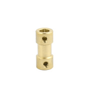 uxcell 5mmx5mm Brass Shaft Coupling Coupler Motor Transmission Motor Connector for RC Boat Model