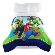 Nintendo Super Mario Trifecta Fun Twin Comforter