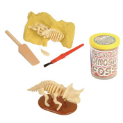 Dinosaur Fossil - Nature Sand Dino Dig Stocking Stuffer - 3pc