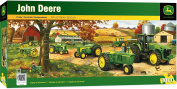 MasterPieces John Deere Legacy - Model B Tractors 1000 Piece Panoramic Jigsaw Puzzle by Charles Freitag