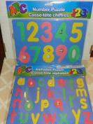 Soft Foam Childs 123 Number Puzzle & ABC Alphabet Set