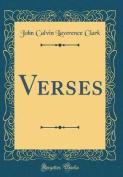 Verses (Classic Reprint)