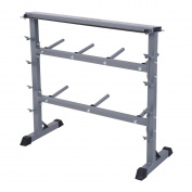GYMAX 350 Kg Weight Plate & Dumbbell Rack Gym Weight Storage Stand