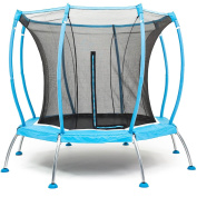 SkyBound Atmos 2.4m Trampoline with Full Enclosure Net System