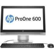 """HP ProOne 600 G2 All-in-One PC 21.5"""" 1080p FullHD Intel i3-6100 4GB 500GB DVDRW Win7Pro (Win10Pro"""