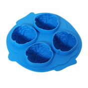 Cake Mould, HUHU833 Brain Shape Silicone Bar Ice Cube Freeze Mould Mould Maker Tray Halloween Party