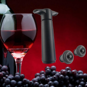 Wine Bottle Sealer Vacuum Wine Pump With 2 Stoppers Sealing Preserver