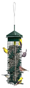 "Brome 2004 Squirrel Solution200 14cm x 14cm x 30"" Wild Bird Feeder with 6 Feeding Ports, 1.9l/1.5kg Seed Capacity, Free Seed Funnel"