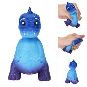 MORWIND Galaxy Dinosaur Squishy Toy, Kawaii Squishy Cartoon Animals Dinosaur Cute Rex Jumbo Squishy Jumbo Scented Cream Super Slow Rising Squeeze Toys Squishy Toys