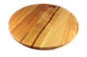 Prosharp® GRAND GALET Natural Solid Wood Chopping Board / Pizza Board / Cheese Trays, - Round - Ø Diameter