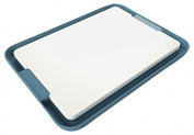 Venn Kitchen Dual Sided Chopping Board with Non-Slip Tray Set, Blue