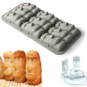 EASTER ISLAND MOAI STONE STATUE SHAPE ICE CUBE JELLY MAKER TRAY mould NEW