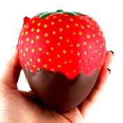 11.5cm Strawberry Squishy Squeeze Stress Relief Toys,SEWORLD Scented Jumbo Collection