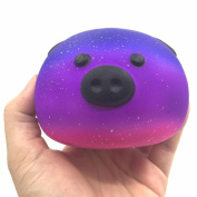 Decompression Toy, Cute Pig Cream Scented Squishy Slow Rising Stress Reliever Toys Squeeze Kid Toy Phone Charm Gift For Adults and Kids