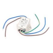 AC 115/250V 10A CW1B-10A-L 3/2 Wire Noise Suppressor Power EMI Filter