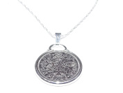 Cinch Pendant 1958 Lucky sixpence 60th Birthday plus a Sterling Silver 50cm Chain
