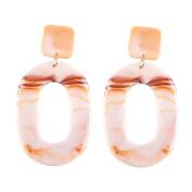 JaneDream Women Bohemian Resin Drop Dangle Earrings Jewellery Statement Long Earrings Eye-catching Gorgeous