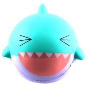 Squashies, 15cm Big Lovely Happy Shark Scented Squishy Slow Rising Squeeze Toys Collection - Stress Reliever Toys -