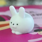 Stress Reliever Toys, TUDUZ Newest Funny Creative Squishy Mini Fat Rabbit Healing Squeeze Abreact Fun Joke Gift Rising Toys