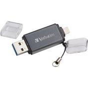 Verbatim 49301 iStore 'n' Go USB 3.0 Flash Drive for Apple Lightning Devices, 64GB