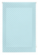 blindecor Stars Roller, Fabric, Blue, 110 x 180 cm