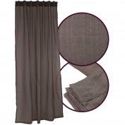 Vivy Tab-Top Curtain with Hidden Loops 140 x 245 cm