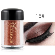 Womens Gift! Brand New 35 Mulit Colour Cold Smoked Warmer Glitter Shimmer Pearl Loose Eyeshadow Pigments Mineral Eye Shadow Dust Powder Makeup Party Cosmetic Set by KaloryWee